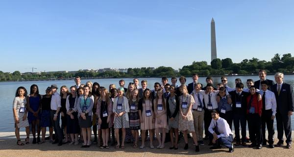 8th Grade trip to DC, 2019
