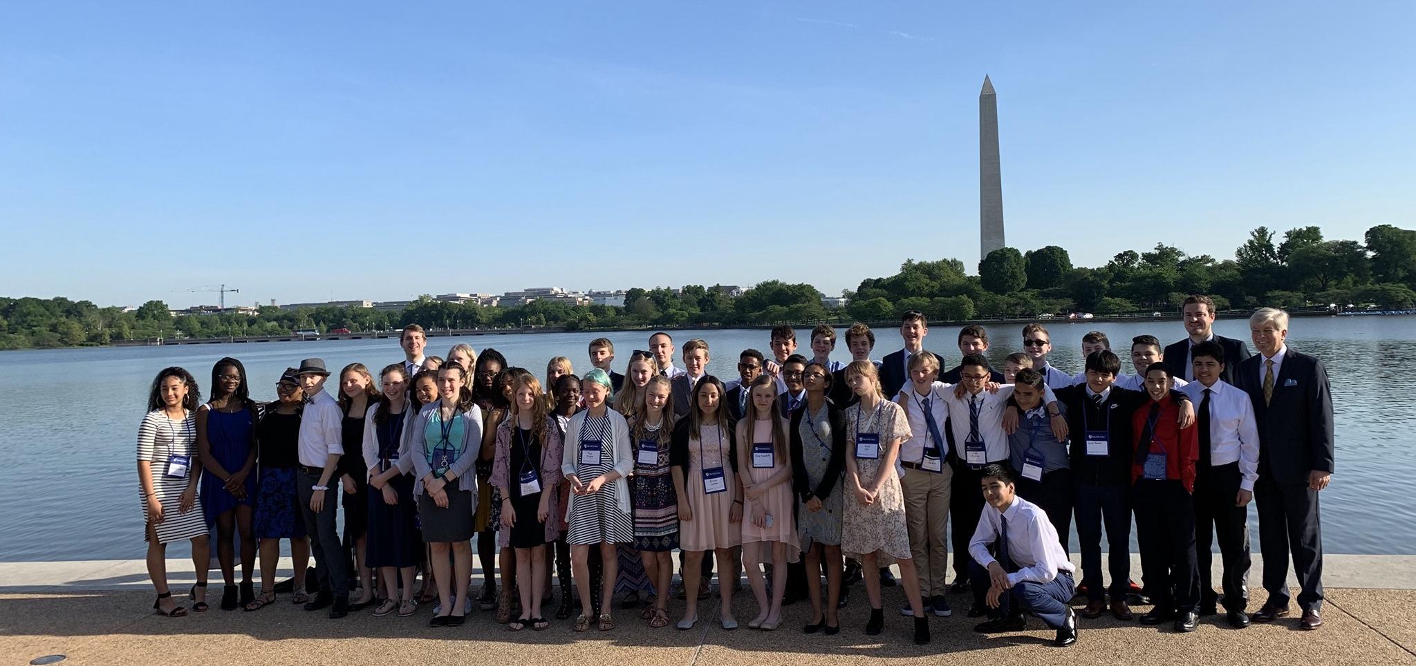 8th Grade trip to DC, 2019