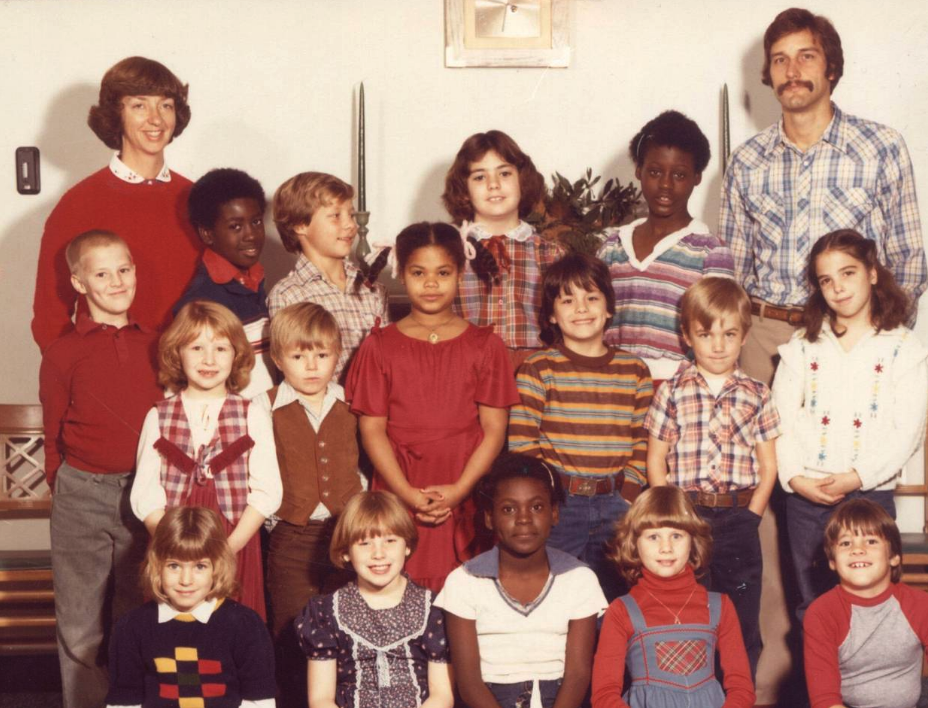 The Potter's House student body, 1982